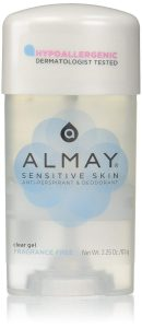 best deodorant for women's body odor-Almay Sensitive skin Clear Gel, Anti-Perspirant & Deodorant