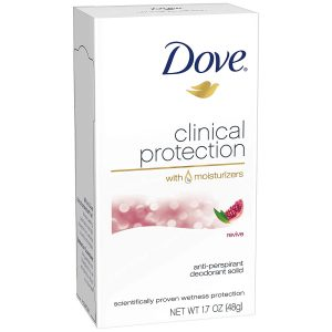 best deodorant for women's body odor-Dove Clinical Protection
